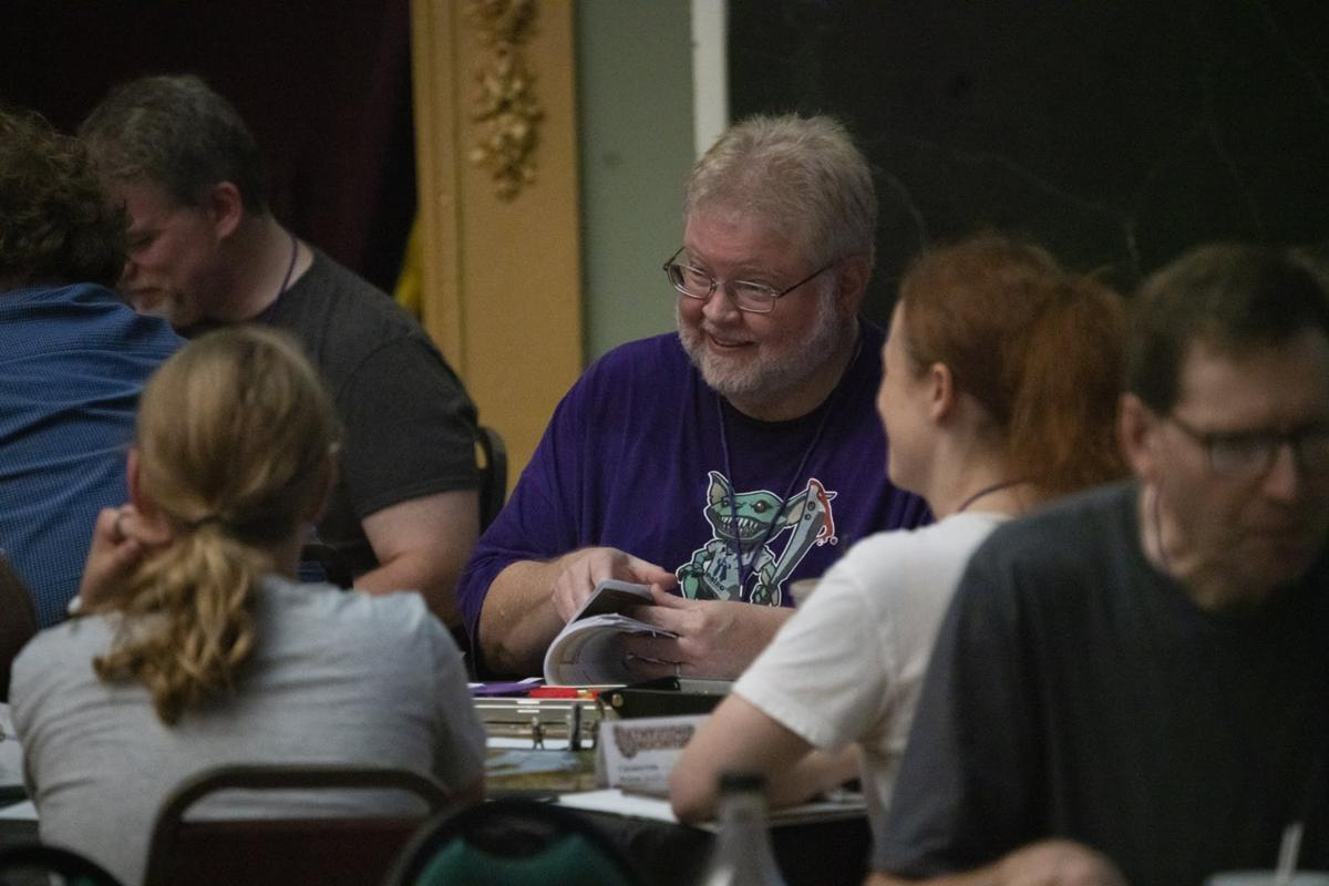 Pathfinder session from Tabletop Central 2019